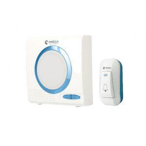 פעמון דלת אלחוטי דיגיטלי כחול