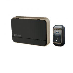 פעמון דלת אלחוטי דיגיטלי שחור