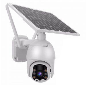 מצלמת אבטחה סולארית HD אלחוטית PTZ
